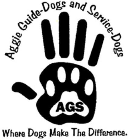 Aggie guide dogs & service dogs.